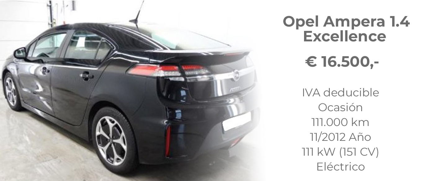 OPEL AMPERA 1.4 EXCELLENCE 16.500€